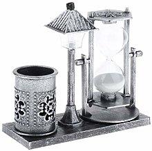 Fenteer Hourglass Sand Timer 1 Minute, Vintage