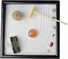 Fenteer Japanese Zen Garden for Desk - Office