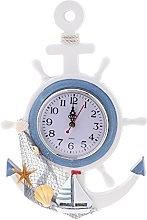 Fenteer Nautical Maritime Quartz Wall Clock Quartz