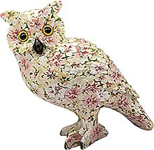 Fenteer Owl Statue for Home Decor Accents Living