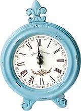 Fenteer Vintage Wooden Wood Desktop Clock Mantel