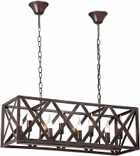 Fentress 8-Light Rectangle Chandelier Lily Manor