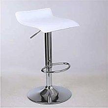 FENXIXI Bar Stools White Bar Chairs Breakfast
