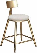 FENXIXI Home Furniture Sitting Bar Stool Bronze
