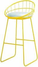 FENXIXI Iron Bar Stool - Furniture Stool Bar Stool