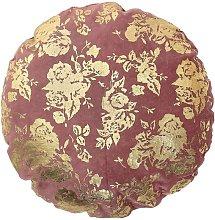 Ferfay Pink Cotton Cushion