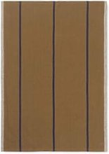 Ferm Living - Hale Tea Towel Mustard and Navy -