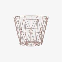 Ferm Living - Large Wire Frame Basket - large |