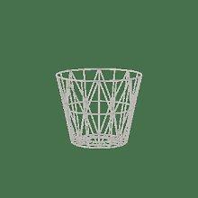 Ferm Living - Light Grey Wire Basket Large