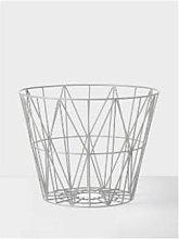 Ferm Living - Medium Wire Frame Basket - medium |
