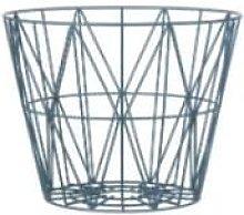 Ferm Living - Small Wire Frame Basket - light grey