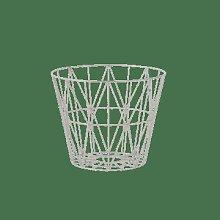Ferm Living - Wire Basket Medium Grey - 50 x 39 |