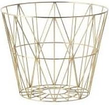 Ferm Living - Wire Basket Small Gold