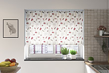 Fermo Redcurrant Roller Blind