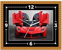 Ferrari Super Car Wall Clock Gift Present