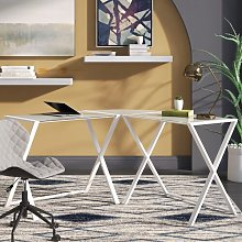 Ferro L-Shape Desk Mercury Row