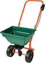 Fertilizer spreader cart - green