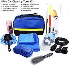 Fesjoy 8Pcs Car Cleaning Tools Kit, Car Wash Tools