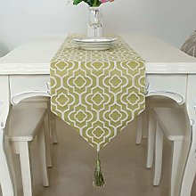 Festival event Checked Table Runner European