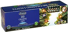 Festive 160 Outdoor Clear Chasing Fairy Lights