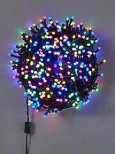 Festive 520 Glow-Worm Lights - Pastel Multi