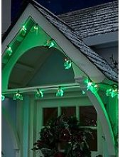 Festive 90 Led Holly Lights