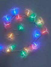 Festive Assorted Fibre Optic String Lights