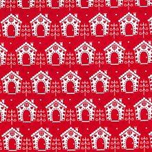 Festive Gingerbread House Christmas Tablecloth