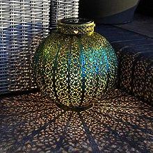 Festive Lights - Moroccan Garden Lantern - Solar