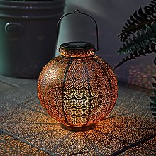 Festive Lights - Moroccan Solar Lantern - Outdoor