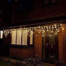 Festive Lights - Outdoor Christmas Icicle Lights -