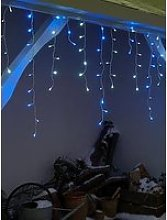 Festive Set Of 960 Blue And White Led Snowing