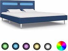 Festnight Bed Frame Solid Bedstead Base for Adults