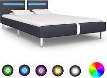 Festnight Bed Frame Solid Wooden Bedframe Perfect