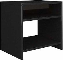 Festnight Bedside Cabinet with 2 Shelves, Couch