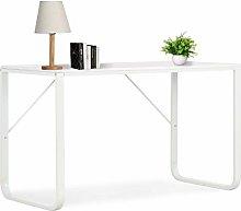 Festnight Computer Desk White 120x60x73 cm