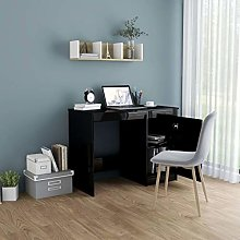 Festnight Desk Writing Table Side Table with