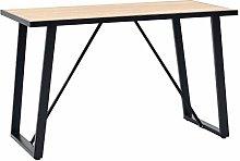 Festnight Dining Table Computer Table Study Desk,