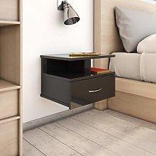 Festnight Floating Nightstand Bedside Cabinet