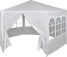 Festnight Gazebo Marquee Party Tent Canopy with 6