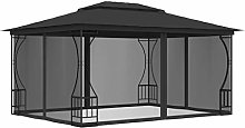 Festnight Gazebo Tent, Waterproof Outdoor Canopy