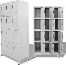 Festnight- Locker Cabinet Storage Holder with 12
