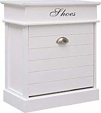 Festnight Shoe Cabinet Storage with 1 Tilting