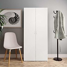 Festnight Shoe Cabinet Storage with 2 Doors and 6