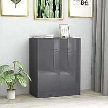 Festnight Sideboard Storage Cabinet with 2