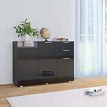 Festnight Sideboard Wide Storage Cabinet with 2