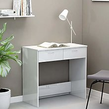 Festnight Study Desk Writing Table Console Table