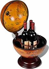 Festnight Tabletop Globe Bar Wine Stand/Globe