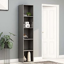 Festnight Tall Book Cabinet Sideboard Bookcase,