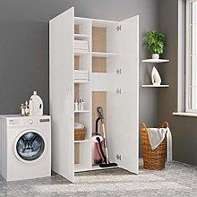 Festnight Tall Storage Cabinet 2 Door Cupboard